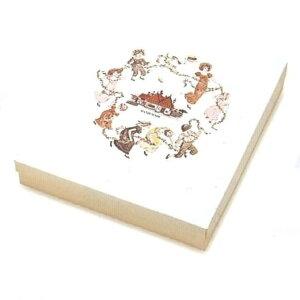 焼菓子箱 新マドレーヌ花娘 15ケ用(100枚)303×275×60mm ギフト箱 パッケージ中澤
