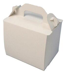 ケーキ箱 新105 OPL ホワイト 3×4(400枚) 90×120×105mm 高さ10.5cm ショートケーキ用 手提げサイドオープン式 パッケージ中澤