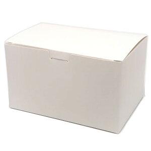 ケーキ箱 ニューワンタッチNo.6(500枚) 120×180×85mm サイドオープン ギフト箱 ケーキパッケージ中澤