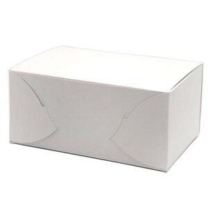 ケーキ箱 KSカートン折 No.5(600枚) 105×150×85mm 糊付けなしの折り式組立タイプ パッケージ中澤