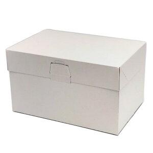 ケーキ箱 ロックBOX105 プレス 5×7(200枚) 150×210×105mm ロックボックス105 パッケージ中澤