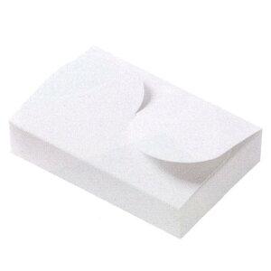 N.Cケース NC-3006 プレス(200枚) 3cm角用 74×112×23mm NCケース 光沢ホワイト チョコレートギフトケース パッケージ中澤