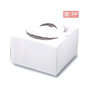 デコ箱 TD PP 6寸用(100枚)212×212×120mm (トレー無し) パッケージ中澤
