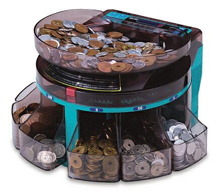 硬貨計数機 コインカウンター エンゲルス コインソーター SCS-200 電動小型硬貨選別機