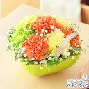 花キューピット【母の日ギフト】mt01yr-521231Anniversaryママ(オレンジ)