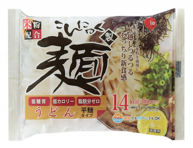 在庫処分市こんにゃく製麺うどん・らーめんタイプ各1箱(12袋入り)