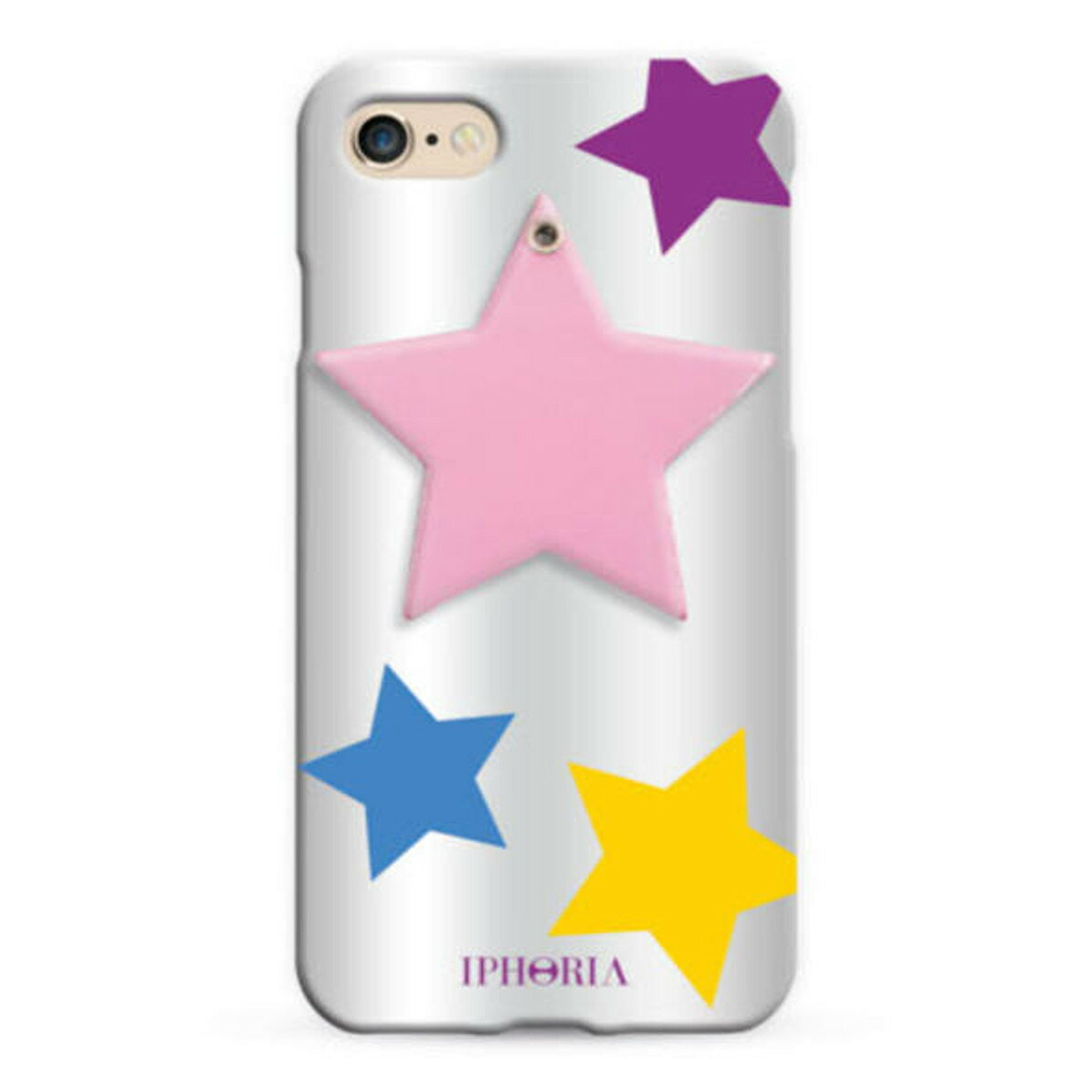 IPHORIA アイフォリア Mirror Case Rose Star for iPhone 7/8 ミラーケースローズスター
