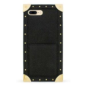 IPHORIA アイフォリア Trunk Case Black for iPhone 7Plus/8Plus トランクケースブラック