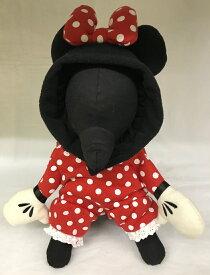 【1枚までメール便対応】Disney ディズニー 犬服 なりきりミニー犬 服 ペット ウエア 洗える おもしろ おしゃれ キャラクターねずみ年 子年 ネズミ 鼠 正月 賀正