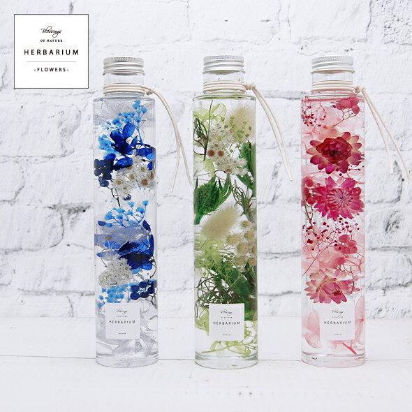 【ハーバリウム キット 手作りキット 花材】商品名:Flowers Fタイプ(手作りキット)