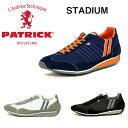 【定番モデル】パトリック PATRICK スニーカー STADIUM スタジアム メンズ レディース 日本製 靴 23952 NV/ORG ネイビーオレンジ 23130 WH/GY ホワイトグレー 23011 BLK ブラック
