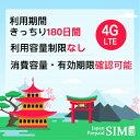 日本docomoプリペイドデータ専用SIM 20GB+最大256Kbps 容量無制限 4G/LTE対応 有効期限きっちり180日 更なる延長により無期限に 全サイ…