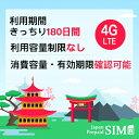 日本docomoプリペイドデータ専用SIM 15GB+最大256Kbps 容量無制限 4G/LTE対応 有効期限きっちり180日 更なる延長により無期限に SIM全…