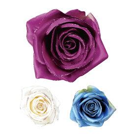 【ご好評につき再入荷!】造花 ASA1805 (ラメ付き)【全3色】【フラメンコ用品】コサージュ 髪飾り フローレス 薔薇