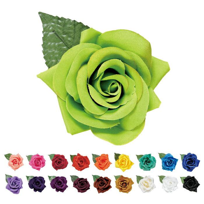 造花 CF-48629≪約9-11cm/全19色≫【フラメンコ用品】コサージュ 髪飾り フローレス
