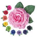 造花/CF-54731≪約11cm/全8色≫【フラメンコ用品】コサージュ 髪飾り フローレス