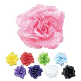 造花 CF-54722【全9色】【フラメンコ用品】コサージュ 髪飾り フローレス