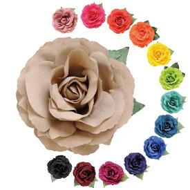 造花/CF-54724≪全14色≫【フラメンコ用品】コサージュ 髪飾り フローレス