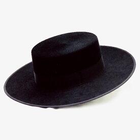 コルドベス/スタンダードブラック 羊毛100%【フラメンコ用品】ISESA社製 帽子
