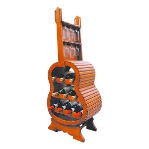 アウトレット 訳あり ギター型 ワインラック スペイン製
