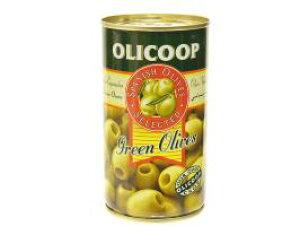 箱買い【グリーンオリーブ(種抜き)・24缶】スペイン産★地中海の風と太陽の恵みをたっぷり受けた緑オリーブです。