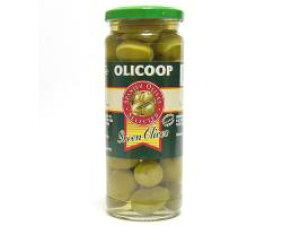 箱買い【大粒グリーンオリーブ(種あり)・12瓶】スペイン産★地中海の風と太陽の恵みをたっぷり受けた大粒の緑オリーブです。