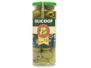 箱買い【大粒グリーンオリーブ(種抜き)・12瓶】スペイン産★地中海の風と太陽の恵みをたっぷり受けた大粒の緑オリーブです。
