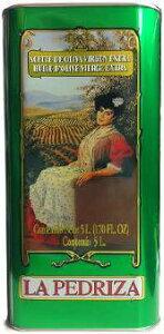 【LA PEDRIZA】エクストラ・バージン・オリーブオイル 5Lペットボトル