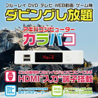 【送料無料】【地デジダブルチューナー搭載2番組同時録画HDMIレコーダーAndroid搭載EPG対応】ABIKA(アビカ)アキバコンピューターカラバコ(ABC-EN2)【RCP】