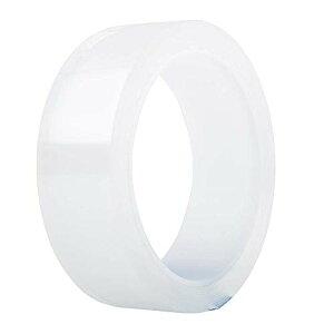 防水テープ アクリル製 透明 カビ/汚れ/水漏れ防止 補修テープ 強粘着 高耐熱 抗菌 目立たない 隙間テープ 台所 コーナー 浴槽 洗