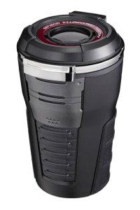 ナポレックス 車用 灰皿 Fizz センサーイルミアッシュ ブラック タンブラー型 ブルーLED付 電池交換不要 (ソーラー発電/充電) ワンタ