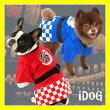 【浴衣】【犬】【服】iDogアイドッグお祭りハッピ。