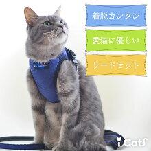 iCat猫用コンフォートハーネスリード付きICATEQUIPMENTアイキャット。