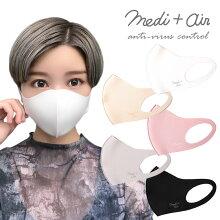 medi+air抗ウイルススマートマスク2枚入
