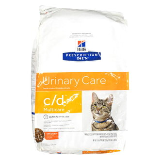 C/d MultiCare 處方飲食為貓山丘陵 8 公斤飲食的