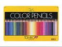 ◆トンボ鉛筆 缶入色鉛筆 36色 NQ 【楽ギフ_名入れ】 【02P03Dec16】