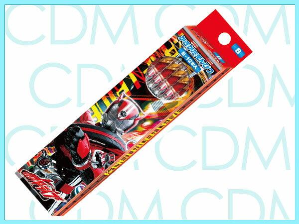 ■仮面ライダー・ドライブ かきかた鉛筆 六角軸 硬度B 紙箱 東映特撮 平成ライダー