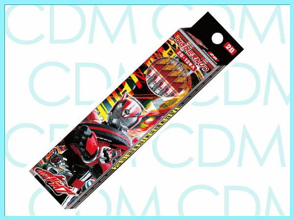 ■仮面ライダー・ドライブ かきかた鉛筆 六角軸 硬度2B 紙箱 東映特撮 平成ライダー