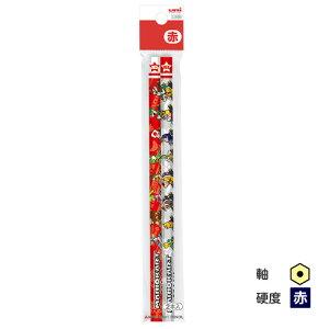 ▽三菱鉛筆 マリオカート 赤鉛筆 六角軸 2本パック マリオ