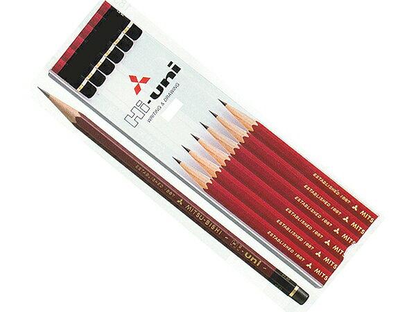 三菱鉛筆 Hi-uni ハイユニ B(紙箱)