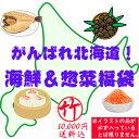 【送料込】がんばれ北海道!海鮮&惣菜福袋(竹:10000円) 食品ロス フードロス