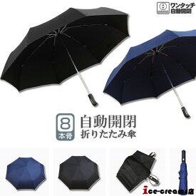 折りたたみ傘 晴雨兼用 自動開閉 シンプル ビジネス 紳士用 通勤 撥水 折り畳み 大きい 傘 メンズ レディース 遮光遮熱 耐風 日傘 雨傘 無地 男女兼用 梅雨対策