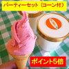 体に優しいアイスクリームパーティーセット自然の恵みをお届け致します