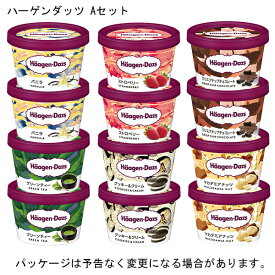 ハーゲンダッツ アイスクリームミニカップ Aセット バラエティ6種 12個入り ◆◆【のし対応/別売】