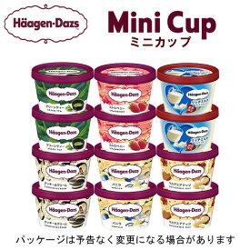 【HD】ハーゲンダッツ ミニカップ12個セット(定番商品5種類+期間限定リッチミルク)