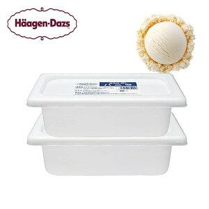 ハーゲンダッツ 業務用 アイスクリーム バニラ(2L×2個)