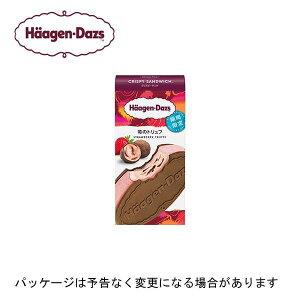 【新発売】【HD】ハーゲンダッツクリスピーサンド苺のトリュフ 60ml×6個×6箱