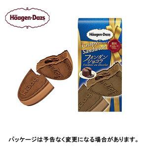 【期間限定】【HD】ハーゲンダッツクリスピーサンド フォンダンショコラ 60ml×6個×3箱
