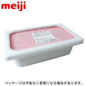 ★【明治】つぶつぶ果肉のストロベリー 2Lバルク × 1個 業務用 在庫限り
