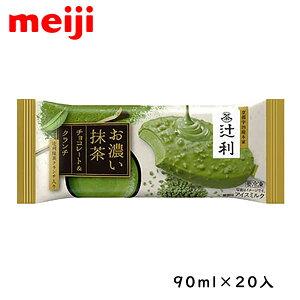 明治 辻利 お濃い抹茶 チョコレート&クランチ 90ml×20入
